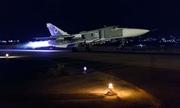 Chiến đấu cơ Nga xuất kích trong đêm diệt IS