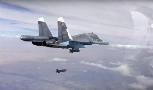 Bốn thông điệp của Putin từ chiến dịch dội bom IS 1