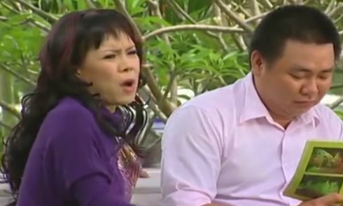 Việt Hương méo mặt vì bài văn tả cuộc nói chuyện trong gia đình của con trai