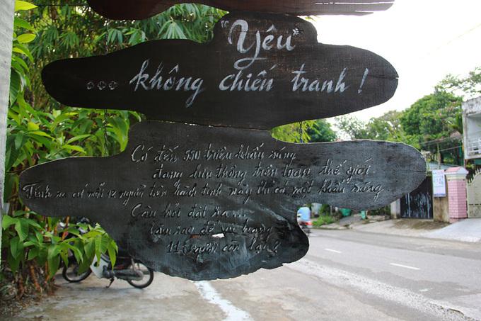Quán cà phê mang dấu tích chiến tranh ở cố đô Huế