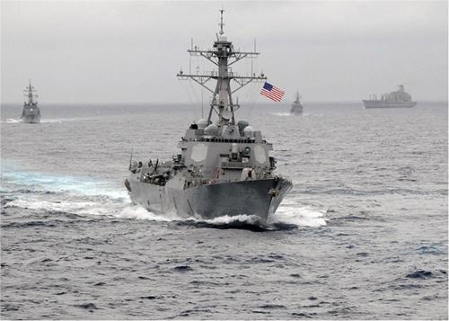 Tuần tra Biển Đông, Mỹ tiến sát điểm tới hạn với Trung Quốc 1