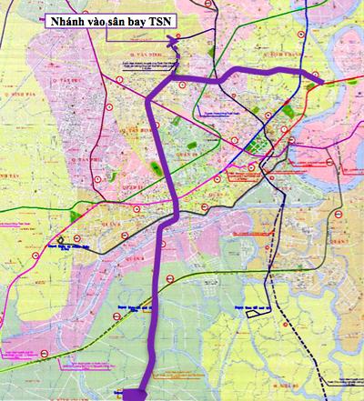 Gần 100.000 tỷ đồng xây tuyến metro số 5 của TP HCM 1