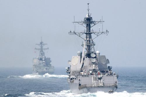 Trung Quốc có thể mượn cớ tàu Mỹ để lập vùng nhận dạng phòng không 1
