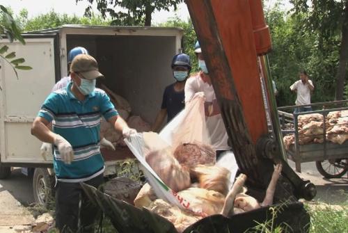 """""""Phù phép"""" 1,5 tấn thịt thối đem bán 2"""