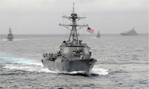 Trung Quốc triệu đại sứ Mỹ phản đối tuần tra trên Biển Đông