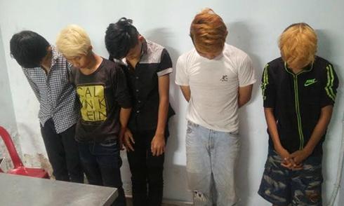 Cậu bé 13 tuổi cầm đầu băng cướp chém du khách ở Sài Gòn