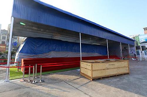 Mẫu tàu điện Cát Linh - Hà Đông sẽ được trưng bày từ 29/10 3
