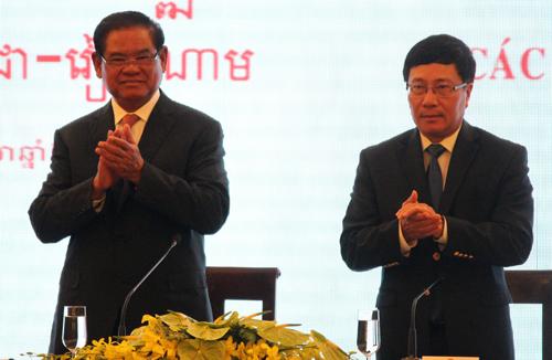 Việt Nam - Campuchia ra thông cáo chung về biên giới 1