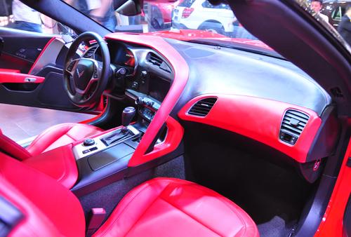 Không gian nội thất của Corvette Stingray