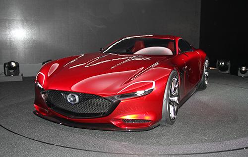 Mazda RX-Vision concept - xe thể thao động cơ xoay 1
