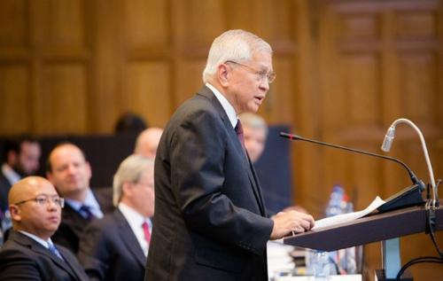 """Philippines muốn tòa phán quyết gì trong vụ kiện """"đường lưỡi bò"""" 1"""