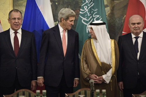 Những cặp kình địch trong hội nghị hòa bình Syria 1