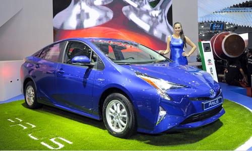 Toyota Prius 2016 - hybrid cho khách hàng Việt 1