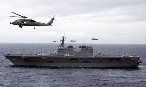 Trông đợi đổ dồn vào Nhật khi Mỹ tìm đối tác tuần tra Biển Đông