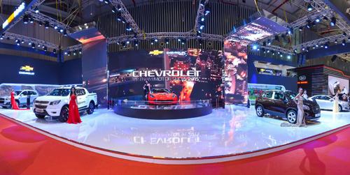 Sản phẩm toàn cầu của Chevrolet tại VMS 2015 1