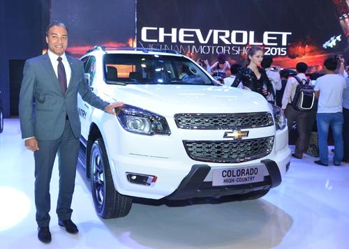 Sản phẩm toàn cầu của Chevrolet tại VMS 2015 2