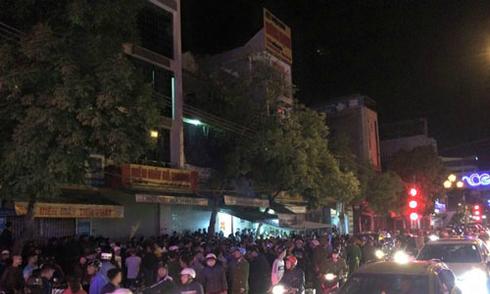 4 người tử vong trong đại lý điện máy ở thành phố Thanh Hóa