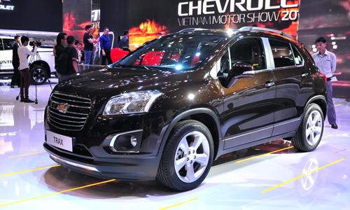 Chevrolet Trax- Xe đô thị mới ra mắt tại Việt Nam