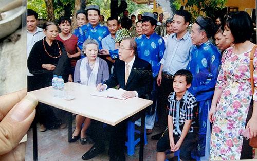 Gia thế của dòng họ Phan Huy, nơi ông Ban Ki-moon ghé thăm 2