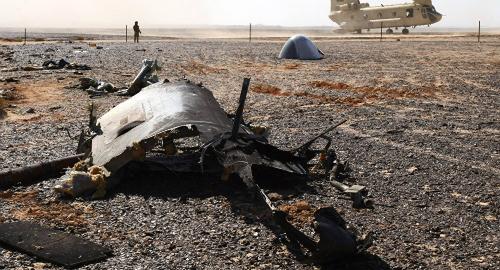 Gia tăng suy đoán máy bay Nga bị đánh bom trên không 1