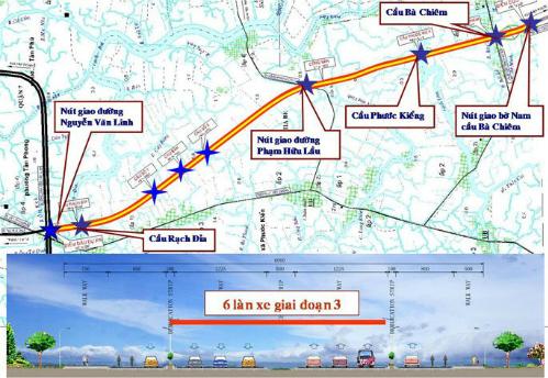 8.500 tỷ đồng làm đường trục Bắc - Nam ở TP HCM 1