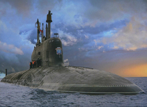 Tàu ngầm Nga Yasen - đối thủ đáng gờm của Mỹ trong lòng biển 1