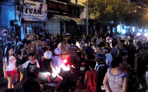 Trăm cảnh sát bao vây nhà bà trùm ma túy ở Sài Gòn