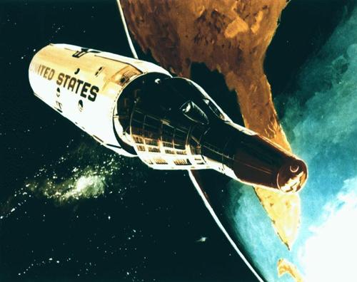 Kế hoạch đưa người lên vũ trụ do thám Liên Xô của Mỹ 1