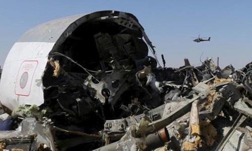 Tình báo Mỹ nói có bom nổ trên máy bay Nga gặp nạn