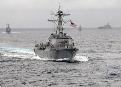 """Tàu chiến Trung Quốc """"hẹn gặp lại"""" tàu Mỹ ở Biển Đông 1"""