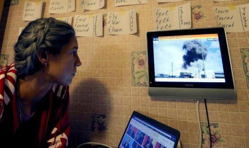 """Chiến dịch không kích Syria giành được trái tim của """"thế hệ Putin"""" 1"""