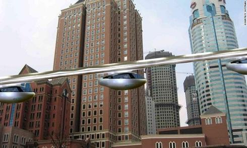 Taxi bay giúp giảm tắc nghẽn giao thông