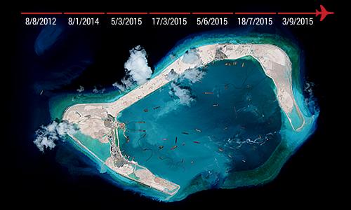 Hiểm họa nếu Trung Quốc đưa tên lửa và thiết bị tình báo đến đảo nhân tạo 1