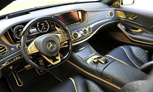 Mercedes S-class siêu xa xỉ toàn vàng