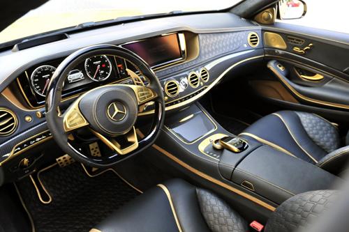 Mercedes S-class độ siêu xa xỉ 1