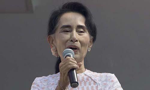Chuyện tình của nữ chính trị gia nổi tiếng nhất Myanmar 2