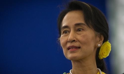 """Bà Aung San Suu Kyi liệu có đứng """"trên cả tổng thống"""" Myanmar 1"""