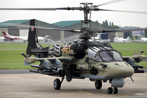 Trực thăng Cá sấu Ka-52, sát thủ diệt tăng của Nga 1