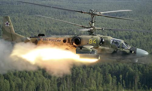Trực thăng Cá sấu Ka-52, sát thủ diệt tăng của Nga 2