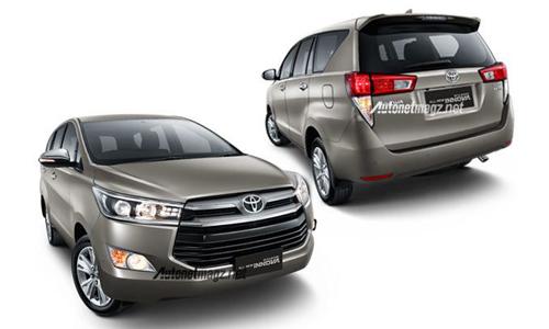 Toyota Innova thế hệ mới cải tiến thiết kế 1