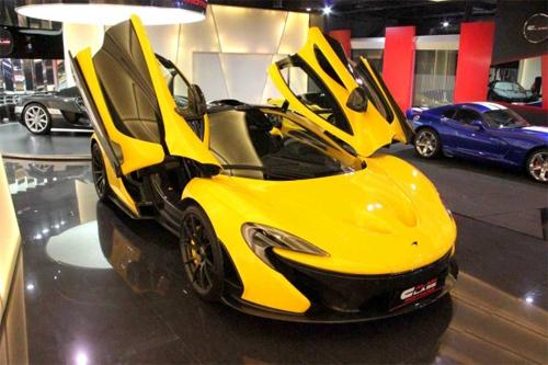 Triển lãm xe cho khách hàng siêu giàu ở Dubai 9