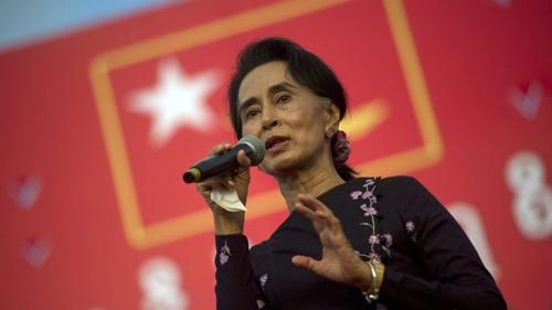 """Chiến lược khuất phục tướng lĩnh của """"Quý bà"""" Myanmar 1"""