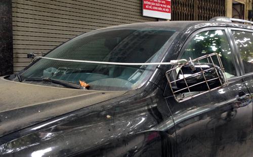 """Trộm gương ôtô - """"đặc sản"""" ở Việt Nam? 1"""