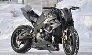 Suzuki Gixxer 1000 người sắt - chiến binh bóng tối