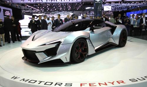 Fenyr Supersport - đẳng cấp siêu xe 1,8 triệu USD 1