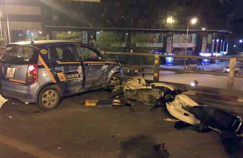 Nghi vấn quanh vụ tài xế taxi gây tai nạn rồi nhảy cầu 2