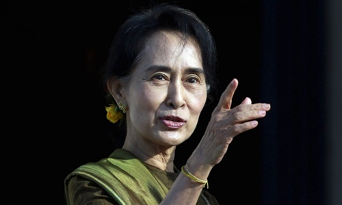 """Chất xúc tác cho thắng lợi của """"Quý bà"""" Myanmar 1"""