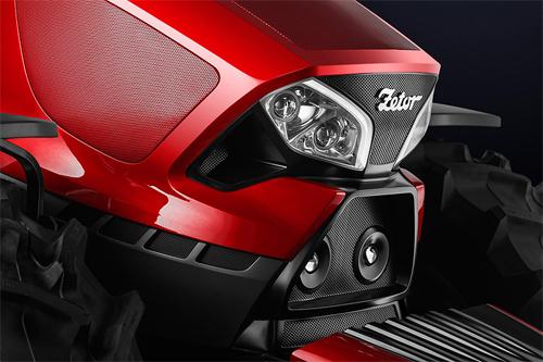 Zetor - máy kéo phong cách Ferrari 3