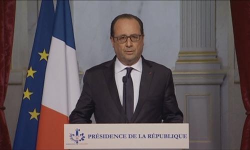 Tổng thống Pháp Francois Hollande. Ảnh: Reuters.