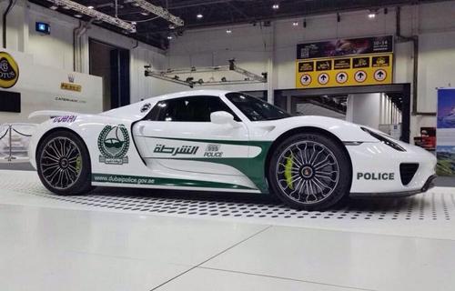 Porsche 918 Spyder - siêu xe mới của cảnh sát Dubai 1